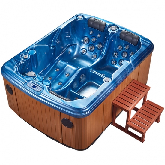 3 person hot tub