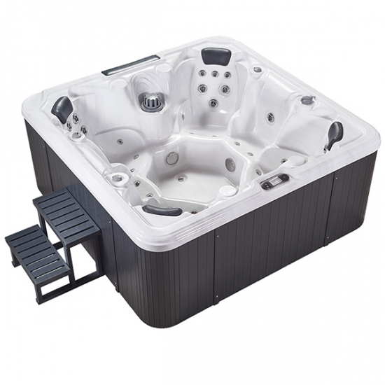 quality therapy outdoor hot tub