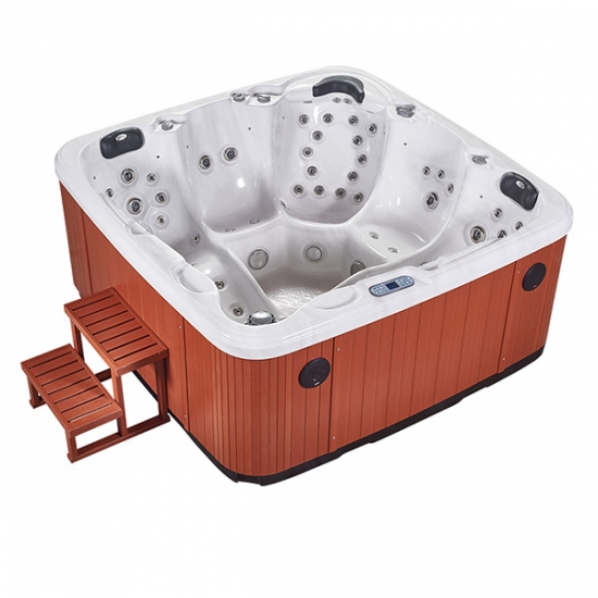 best selling eight person spa